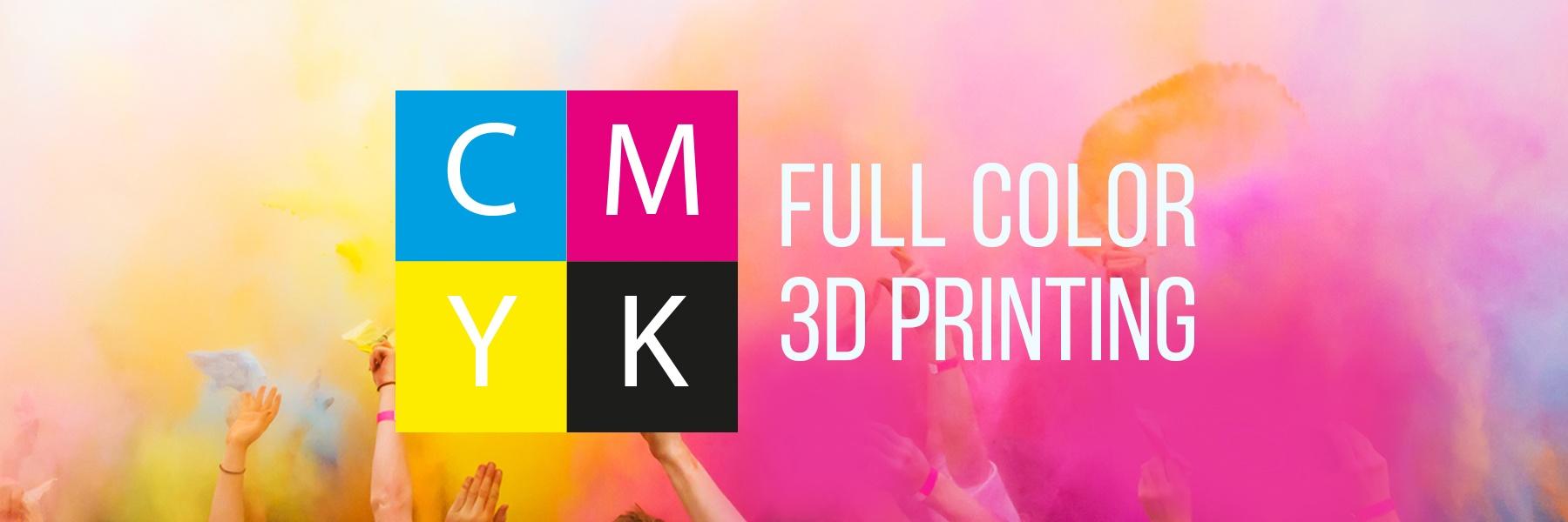 Cometrue3D CMYK Full Color Printing