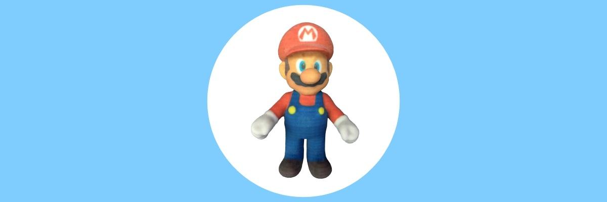 ComeTrue3D loves Super Mario Run in 3D printing !