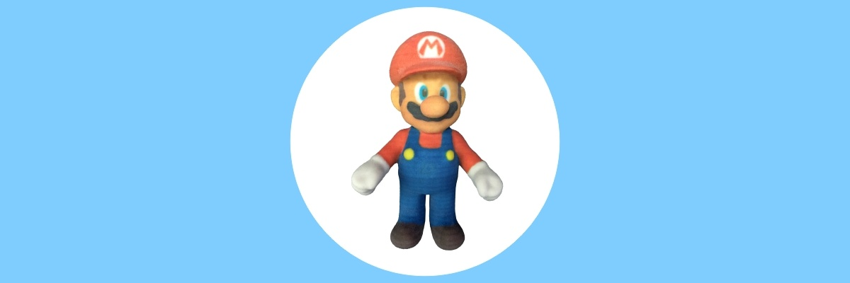 ComeTrue3D loves Super Mario Run in 3D printing !